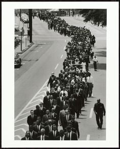 In a Show of Support that Brought Together Different Factions of the Movement, Civil Rights Leaders Joined Funeral Procession of NAACP Activist Medgar Evers, Jackson, Mississippi, 1963. Collection of the Smithsonian National Museum of African American History and Culture Gift of the Family of Charles Moore, © Charles Moore.