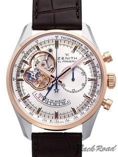 ゼニス クロノマスターオープンパワーリザーブ[51.2080.4021/01.C494] ZENITH   メンズ 新品腕時計