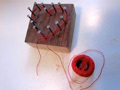 Make a yarn heart