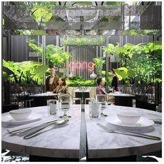 Carbono Atelier - buenos aires // Render Gong-Restaurant