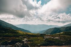 PATH  Gulfside Ridge trail to Mount Adams