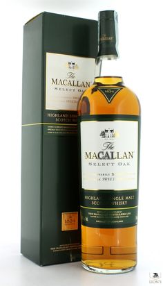 Macallan select oak one of the best types of Scotch Whisky Macallan Whisky, Single Malt Whisky, Bar Drinks, Scotch Whisky, Bourbon, Whiskey Bottle, Wines, Life Is Good, The Selection