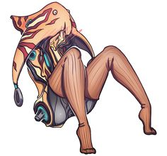 alien alpha_channel blush clothing embarrassed female ivara_(warframe) legwear not_furry outline simple_background solo stockings tenno transparent_background video_games warframe zilv-nyan Character Concept, Character Art, Concept Art, Character Design, Blush Outfit, Warframe Art, Arte Cyberpunk, Drawing Games, Video Game Art