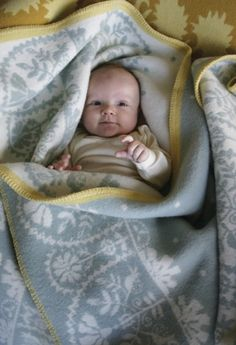 Beautiful Norwegian blankets for baby and home by Oleana