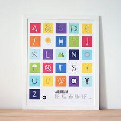 Alpha Bike Poster