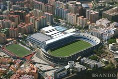 Heliodoro Rodriguez Lopez Stadium (Tenerife, Spain) By Marrero Regalado & Carlos Schwartz