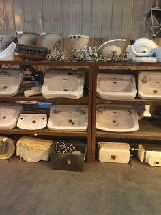 Original basins etc