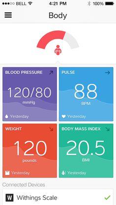 iOS design found on Dribbble. Mobile Application Design, Mobile Ui Design, Wireframe, Design Ios, Ui Design Inspiration, Health App, Ipad, User Interface Design, Applications