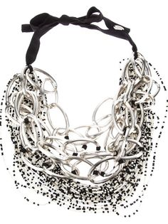 MARIA CALDERARA - resin chain necklace 4