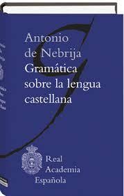 Gramática de Antonio de Nebrija