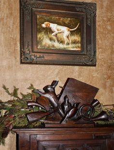 English Country Hunting Decor Items