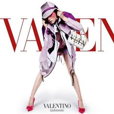 @RianneVanRompaey strikes a pose with a white leather Valentino Garavani #CandyStud VLTN bag making the #ValentinoSS18 #AdvCampaign extraordinary. Location: Pier 59 Studio New York Photographers: @inezandvinoodh Creative direction: #PierpaoloPiccioli - #Beauty and #Fashion Inspiration - #Dresses and Footwear - #Designer Handbags and Styling Accessories - International Advertising Campaigns - Gifts and Bargain Shopping - #Famous Brands - Editorial Magazine Covers - Supermodels and Runway…