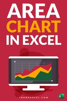 Learn how to quickly create Area chart in Excel. These are just like line charts in Excel, and are often used in business reports and presentations to show variations overtime Computer Basics, Computer Keyboard, Excel For Beginners, Excel Hacks, Pivot Table, Absolute Value, Charts And Graphs, Microsoft Excel, Need To Know