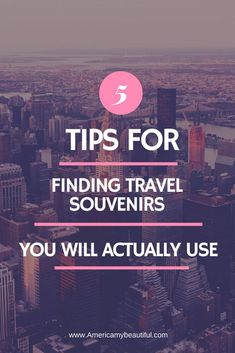 No more kitschy junk that you get sick of..buy souvenirs that you will cherish for years to come.