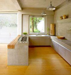 Kitchen Interior, Room Interior, Kitchen Design, Lofts, Mini Loft, Charming House, Kitchen Images, Luxury Apartments, Rustic Kitchen