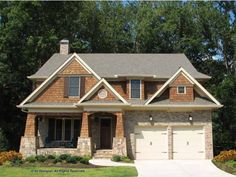 Craftsman House Plan with 2850 Square Feet and 4 Bedrooms(s) from Dream Home Source | House Plan Code DHSW68399