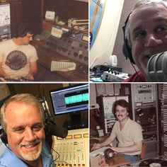 In honor of #NationalRadioDay! These photos are only @ 30 years apart! I haven't changed a bit. Nope. Not one bit.  #delusional