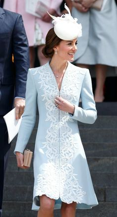 Kate Middleton's Stellar 2016 Style: Her Best Looks – The Duchess of Cambridge – Epoxyone Kate Middleton Look, Estilo Kate Middleton, Kate Middleton Outfits, Kate Middleton Fashion, Kate Middleton Wedding Dress, Do It Yourself Fashion, Royal Clothing, Vestidos Vintage, Lady Diana