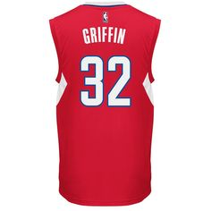 Men's Adidas Los Angeles Clippers Blake Griffin Replica Jersey, Size: Medium, White