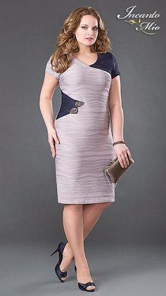 Платья больших размеров белорусского бренда Inkanto Mio. Весна-лето 2013 Plus Size Dresses, Sexy Dresses, Plus Size Outfits, Beautiful Dresses, Casual Dresses, Short Dresses, Fashion Dresses, Formal Dresses, Frock For Women