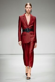 Risk Skirt and Jacket Suit - Escada Fall 2016 Ready-to-Wear Fashion Show