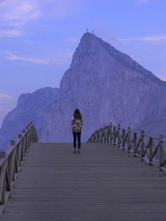 """The Rock of Gibraltar... yes, truly a """"weird and awesome"""" place all at the same time."""