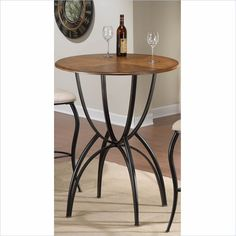 Hillsdale Pacifico Bar Height Bistro Table in Brown - 4137PTB - Lowest price online on all Hillsdale Pacifico Bar Height Bistro Table in Brown - 4137PTB