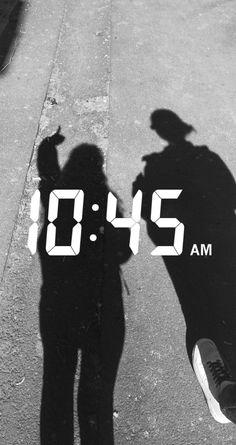 10:45 snap Friends, Amigos, Boyfriends