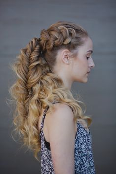 Finished Viking Braid we ❤ this! moncheribridals.com #weddinbraids #bridalbraids #weddingupdo