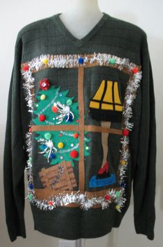 c7dd7d9d0 Unavailable Listing on Etsy Ugly Sweater Party, Tacky Christmas Sweater,  Xmas Sweaters, Ugly