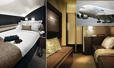 Etihad's The Residence suite: Blogger appeals for donations to pay for £15,000 ONE-WAY ticket | Mail Online