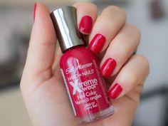 Sally Hansen Xtreme wear, 160 Cherry Red