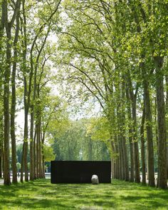 On View   Lee Ufan's Contemplative Sculptural Installations at Versailles
