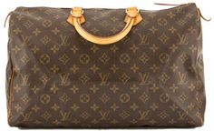 fe0e2891d04 Louis Vuitton Monogram Canvas Speedy 40 Bag Louis Vuitton Speedy 40