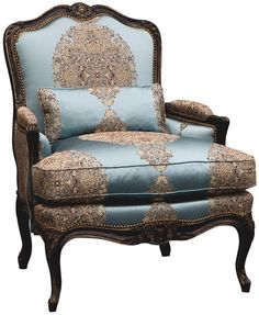 Bergere Louis XV (las sillas de mi mamá)✖️More Pins Like This One At FOSTERGINGER @ Pinterest✖️