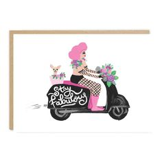 💗 Stay Fabulous 💗 . . #greetings #greetingcard #stylishstationery #stayfabulous Paper Goods, Fisher, Create Yourself, Etsy Seller, Greeting Cards, Unique Jewelry, Illustration, Handmade Gifts, Pretty