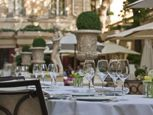 Dined here in the courtyard and in the bar at The Ritz Paris.  Still have a copy of the check and matchbook!