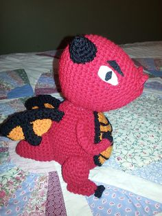 Ravelry: Dragon Amigurumi pattern by Momy Soso