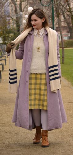 Georgiana Quaint | Czech Republic blogger | handmade winter coat | winter street style | winter outfit | layered outfit