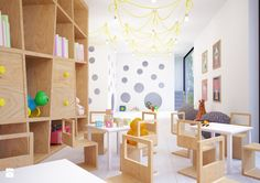 17 Interior Design Ideas for An Enjoyable Classroom – Futurist Architecture Kindergarten Interior, Kindergarten Design, Modern Classroom, Classroom Design, Daycare Design, School Design, Home Learning, Learning Spaces, Simple Interior