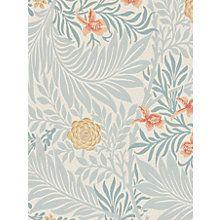 Buy Morris & Co Bird Larkspur Wallpaper Online at johnlewis.com
