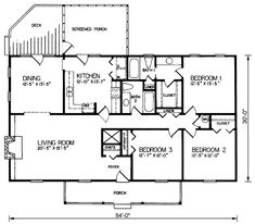 First Floor of Plan ID: 24237