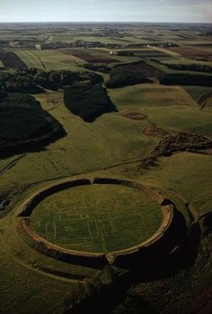 Viking ring castle in Denmark, dating from c. 980 AD.
