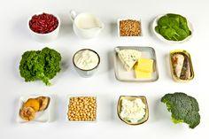 Get Plenty of Calcium and Vitamin D