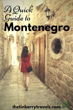 A Quick Guide to Montenegro. We hadn't really heard much about Montenegro before we found a cheap flight deal and I suspect maybe you haven't either. So here are some of the quick basics of Montenegro to make your travel decision easy.