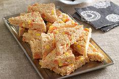 Candy Corn-Marshmallow RICE KRISPIES® TREATS™ recipe