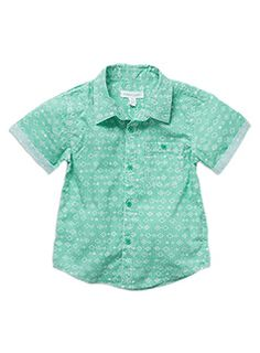 Toddler Boys Printed SS Roll Up Shirt Mint shirt with mock tee Mint Shirt, Up Shirt, Button Down Shirt, Little Boy Outfits, Little Boys, Kids Outfits, Pumpkin Patch Outfit, Patch Shop, Christmas Shirts