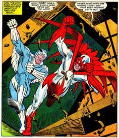 DC Comics | Hawk and Dove from their first appearance. Art by Steve Ditko.
