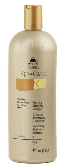 KeraCare Hydrating and Detangling Shampoo and conditioner is the best for hair that grows long and thick!