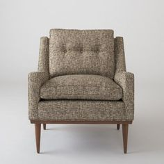 Jack Chair - Nubby Tweed made in Los Angeles, $1300 www.schoolhouseelectric.com